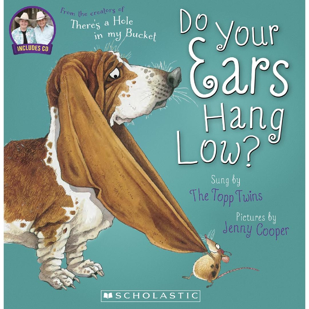 Do Your Ears Hang Low? Picture Book + CD