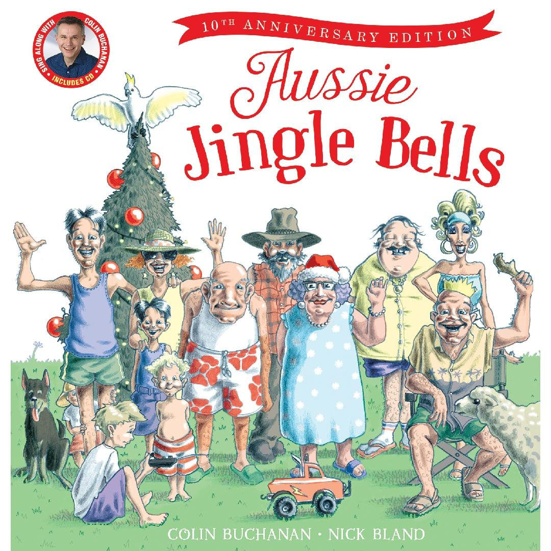 Aussie Jingle Bells Picture Book + CD
