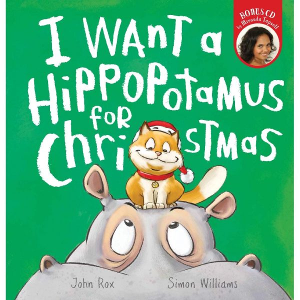 I Want a Hippopotamus For Christmas Picture Book + CD