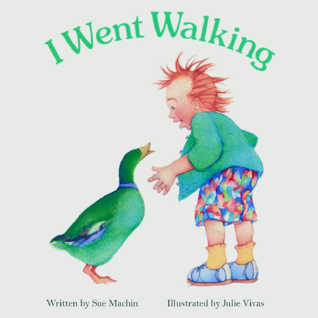 I Went Walking Baby Book