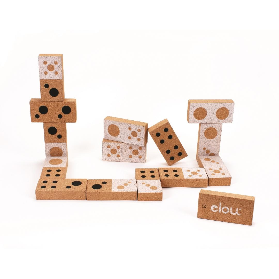 elou Cork Shape Dominoes