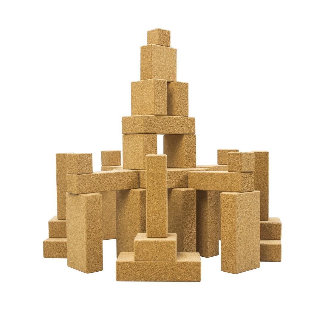 Cork Building Blocks (96pcs)