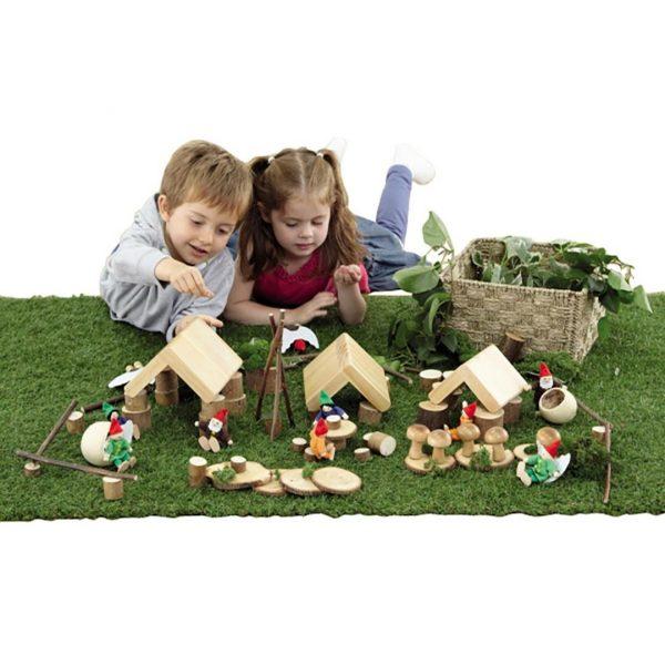 Woodland Village Play Set