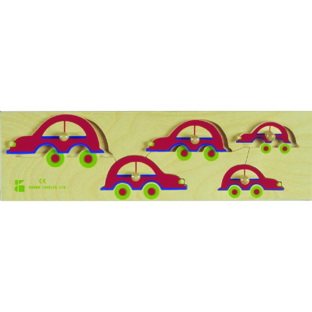 Sequencing Cars Puzzle (5pcs)