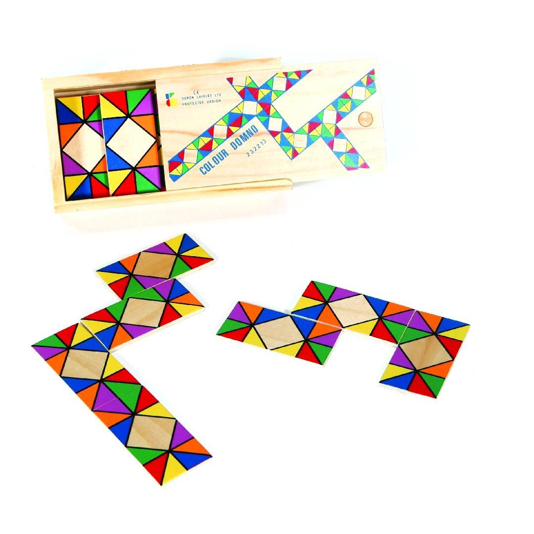 Mosaic Dominoes (28pcs)