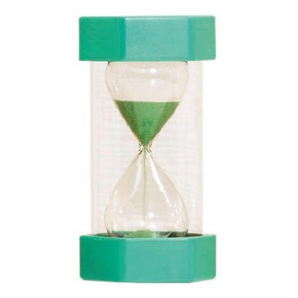 Sand Timer 1 Minute Green