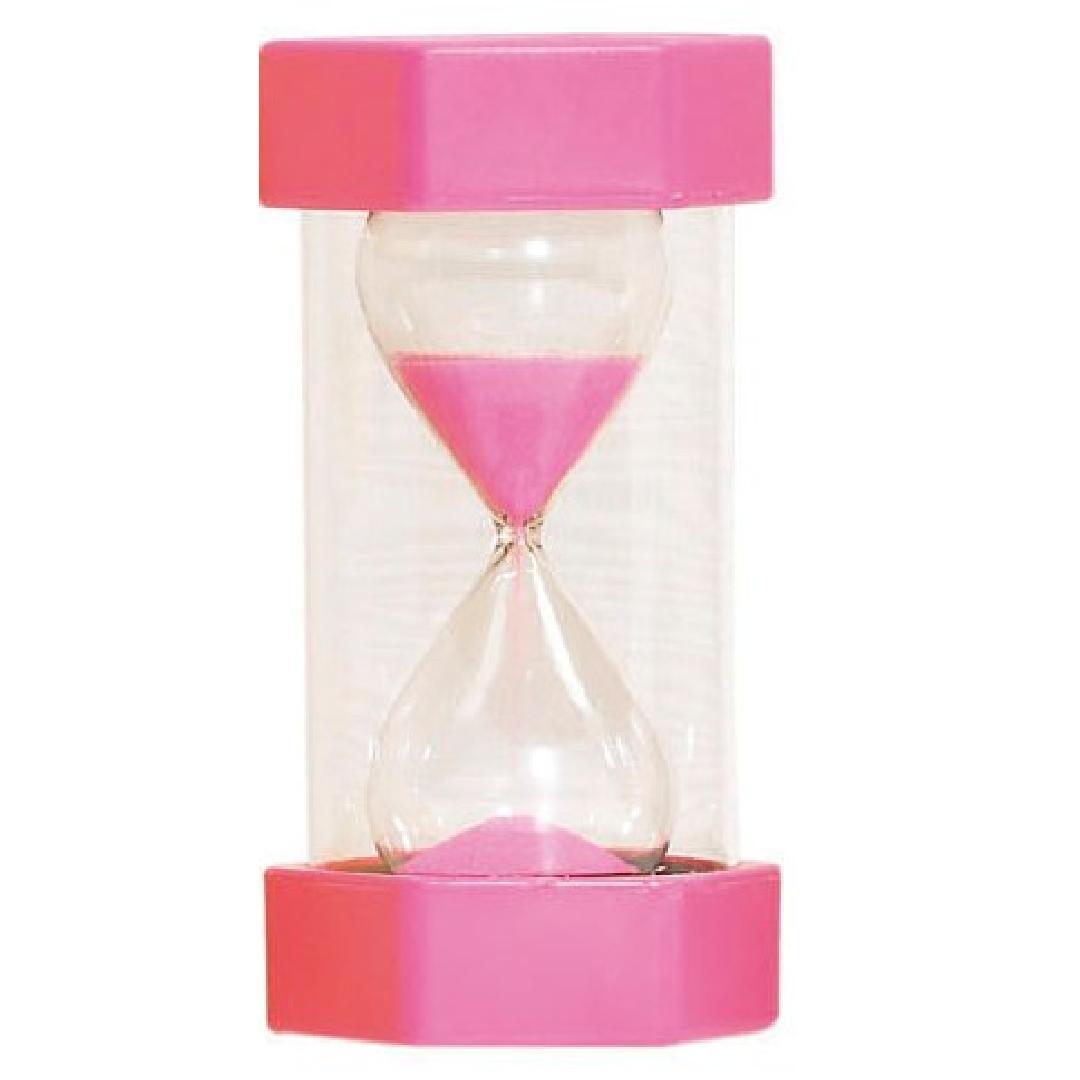 Sand Timer 2 Minutes Pink