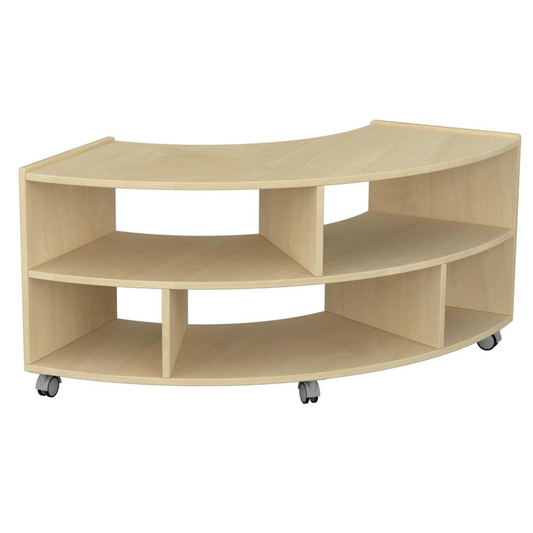 Birchwood Low Curved Unit