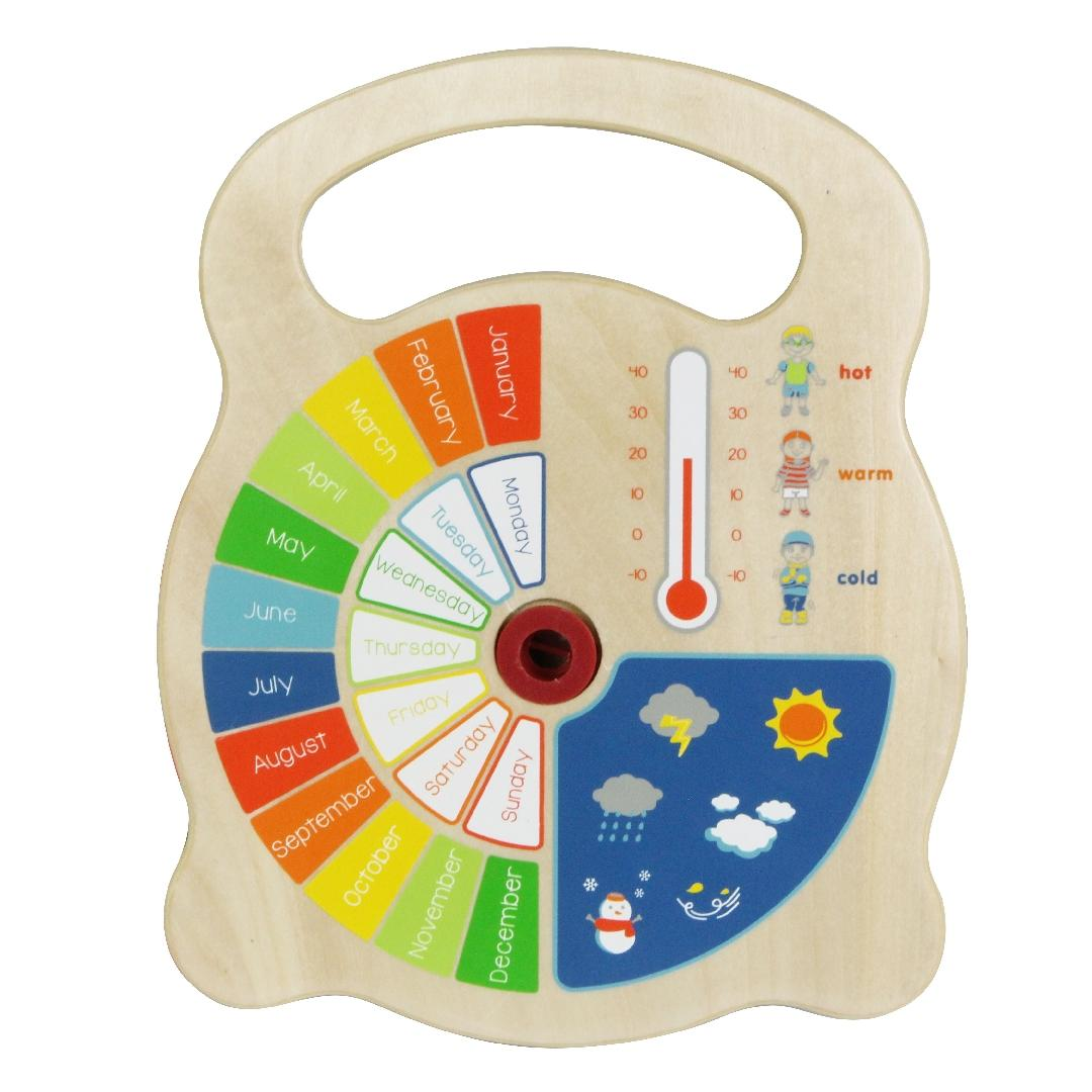 Wooden Teaching Clock
