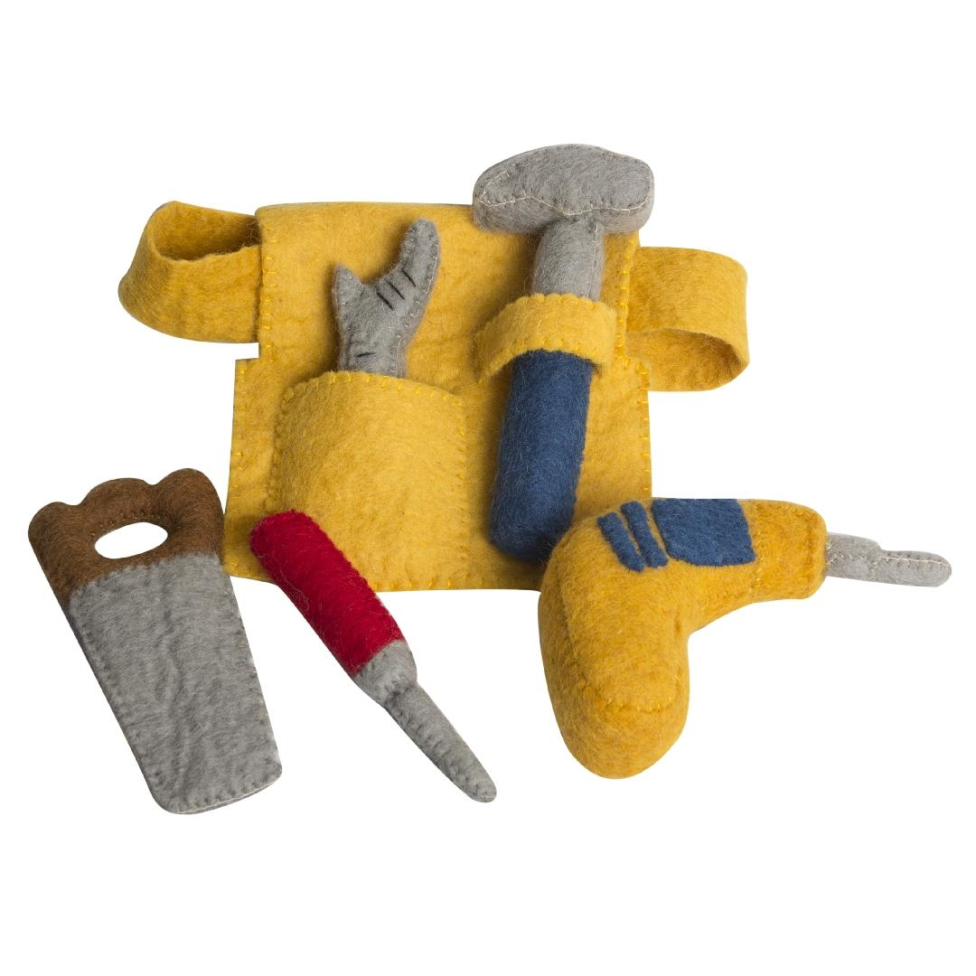 Felt Tool Belt Set (6pcs)