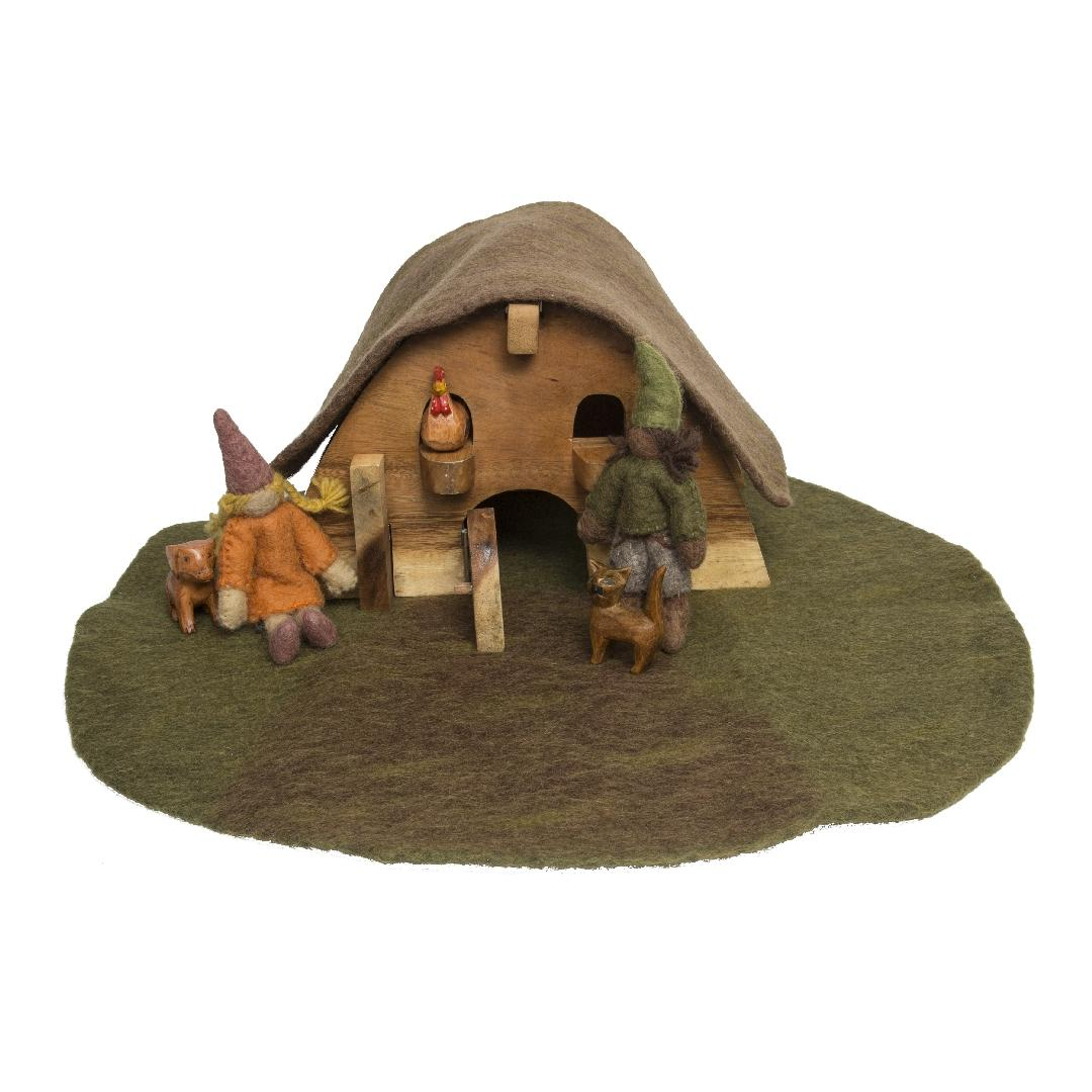 Felt Gnome House Set (7pcs)