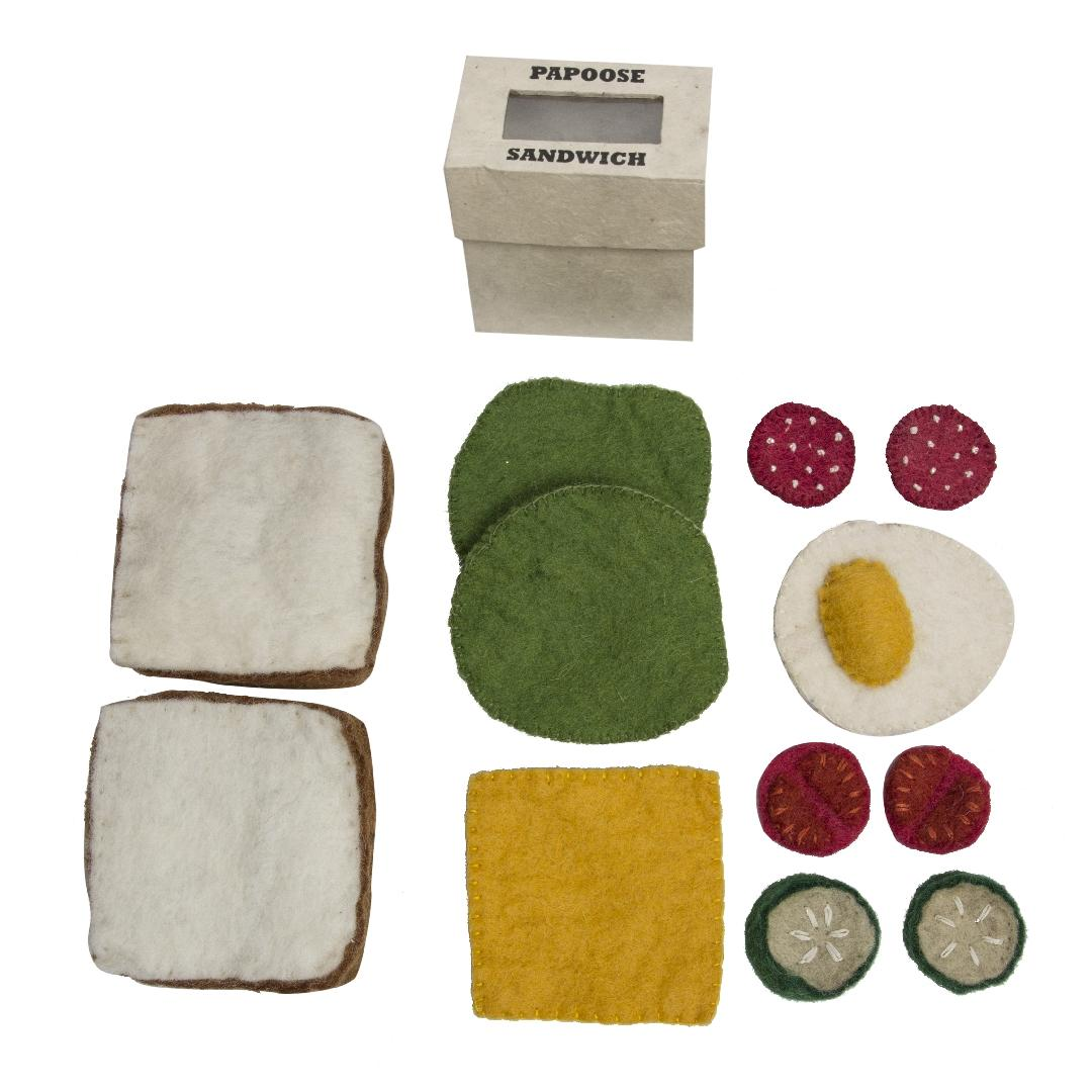 Felt Sandwich Set (12pcs)