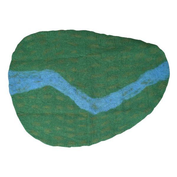 Felt Playmat - River
