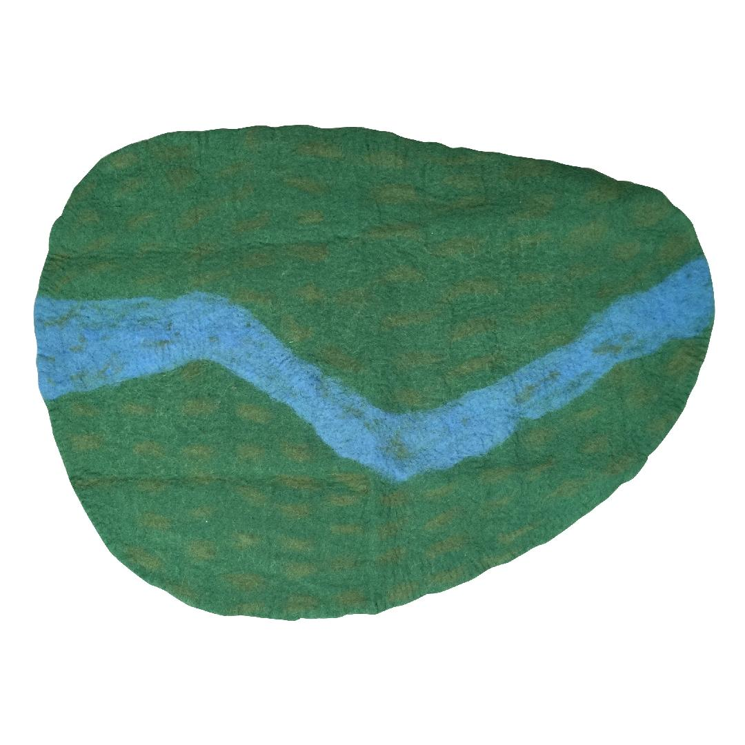 Felt Playmat - River