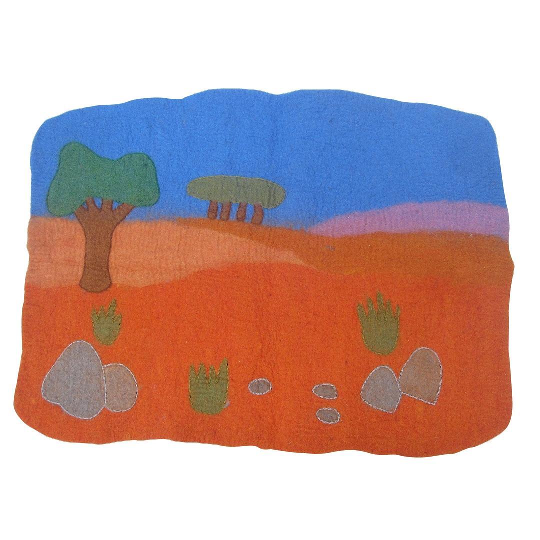 Felt Playmat - Outback