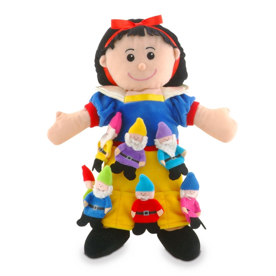 Snow White Hand & Finger Puppet Set