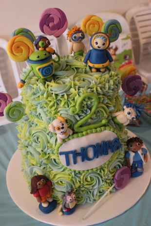 Torta Bubble Guppies