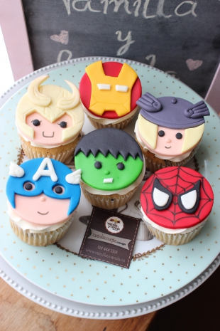 Cupcakes Super Héroes