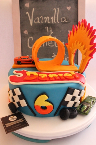 Torta Hot Wheels