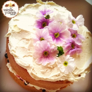 Naked Cake Flores