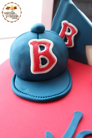Torta Béisbol Red Sox