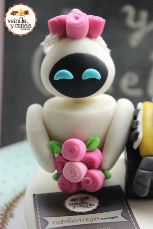Toppers Matrimonio Wall-e