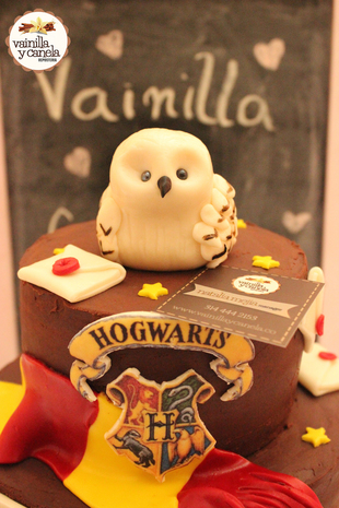 Torta Harry Potter Hedwig