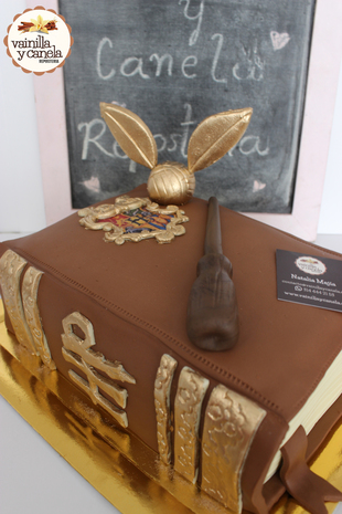 Torta Harry Potter Libro