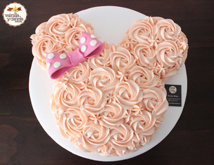 Torta Minnie Mouse Rosas