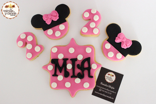 Galletas Minnie Mouse