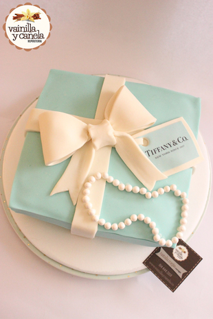 Torta Tiffanys & Co.