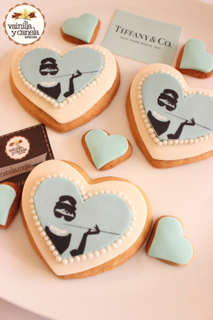 Galletas Tiffany & Co.