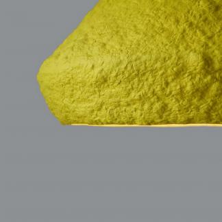 lampara-sostenible-techo-papel-mizuko-amarilla-lamparas-ecologicas-ekohunters-crea-re