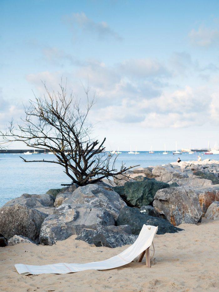 Tumbona o silla de playa Fortuna-543