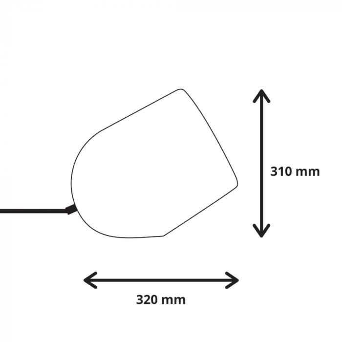 medidas-lampara-sostenible-mesa-archy-blanca-grande-ekohunters