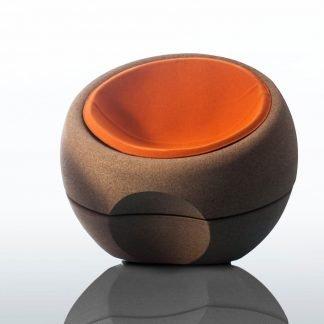 Sillón con cojín Spherical-0