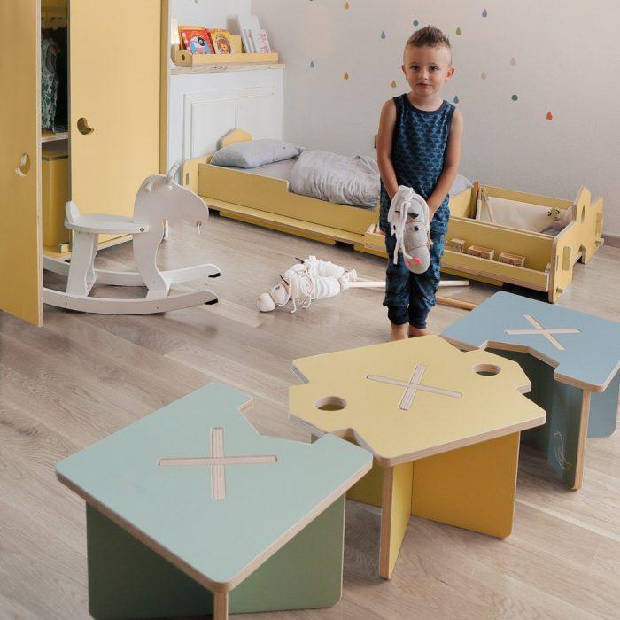 Set taburetes infantiles Lapo-0
