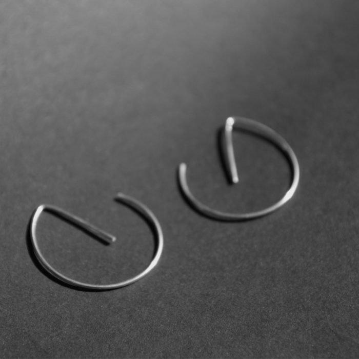Aretes finos de ecoplata-21507