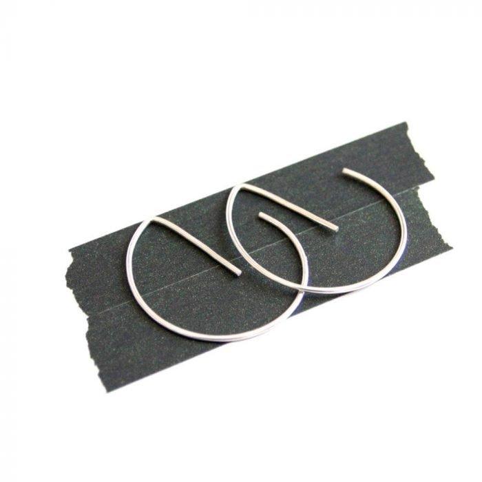 Aretes finos de ecoplata-21509