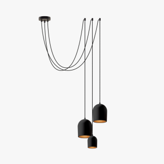 lampara-colgante-sostenible-blanca-cluster-arch-3-negro-ecodiseno-ekohunters-more-circular