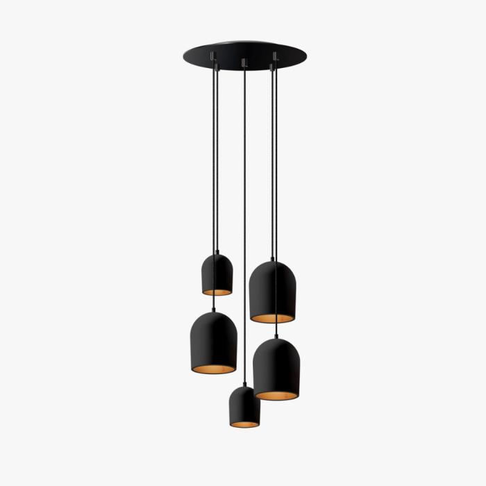 cluster-5-sustainable-black-ceiling-lamp-ekohunters-ecodesign-more-circular