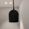lampara-colgante-negra-sostenible-archy-small-ekohunters-ecodiseno-more-circular