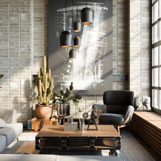 cluster-5-eco-friendly-black-ceiling-lamp-ekohunters-ecodesign-more-circular