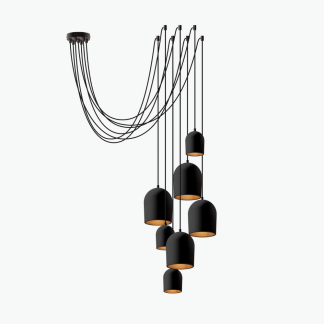 archy-cluster-7-black-sustainable-ceiling-lamp-ekohunters-ecodesign