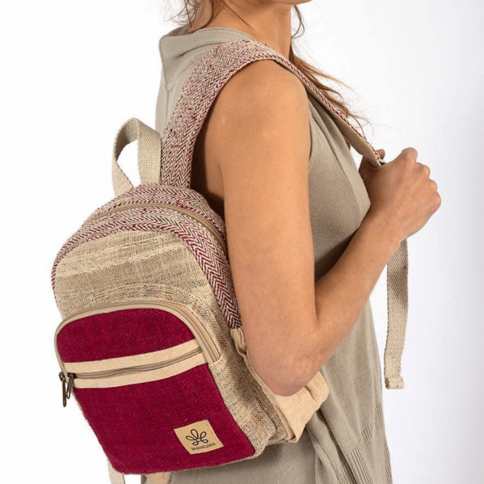 eco-friendly-sunsari-red-backpack-ekohunters-bhangara-sustainable-fashion-accessories