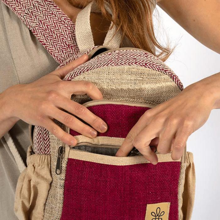 sunsari-red-backpack-ekohunters-bhangara-sustainable-fashion-accessories