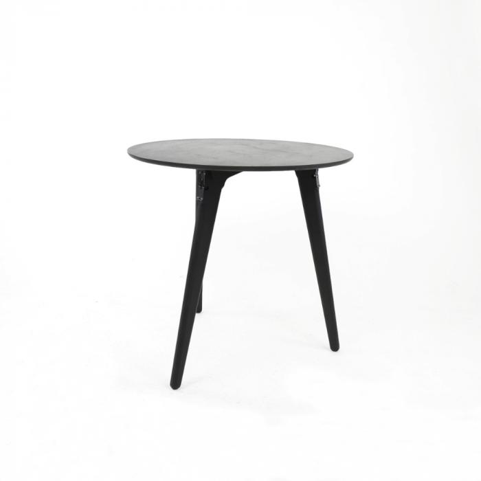 mesa-comedor-sostenible-madera-negra-pequena-redonda-originals-ekohunters-fuzl