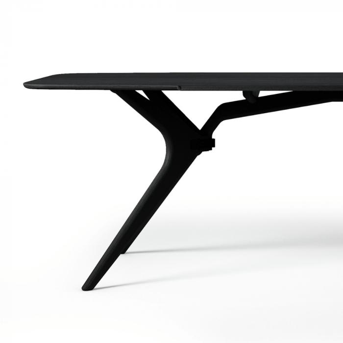 mesa-comedor-negra-madera-kiko-2400-ekohunters-fuzl