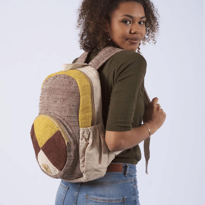 sustainable-parbat-brown-yellow--backpack-ekohunters-bhangara