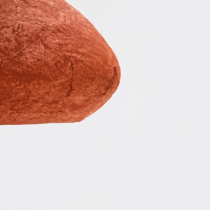 sustainable-paper-pendant-lamp-morphe-I-dark-english-pink-sustainable-lamps-ekohunters-crea-re-inspiring-changes